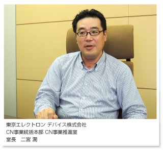 東京エレクトロンデバイス株式会社 CN事業統括本部 CN事業推進室 室長 二宮 潤