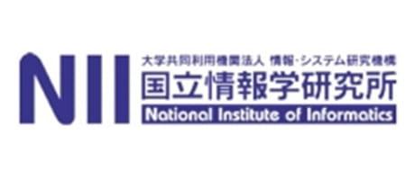 大学共同利用機関法人 情報・システム研究機構 国立情報学研究所様ロゴ