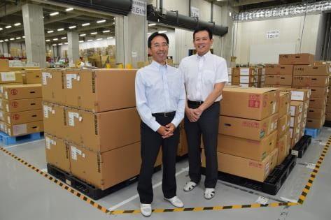 CN品質技術部 鈴木達郎(写真左) 宇丹浩二(写真右)